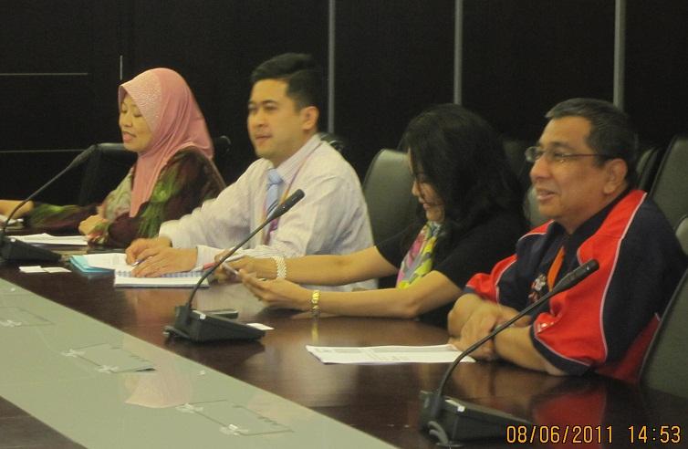 Perdasama Mesyuarat Petugas Eic Di Shah Alam Selangor