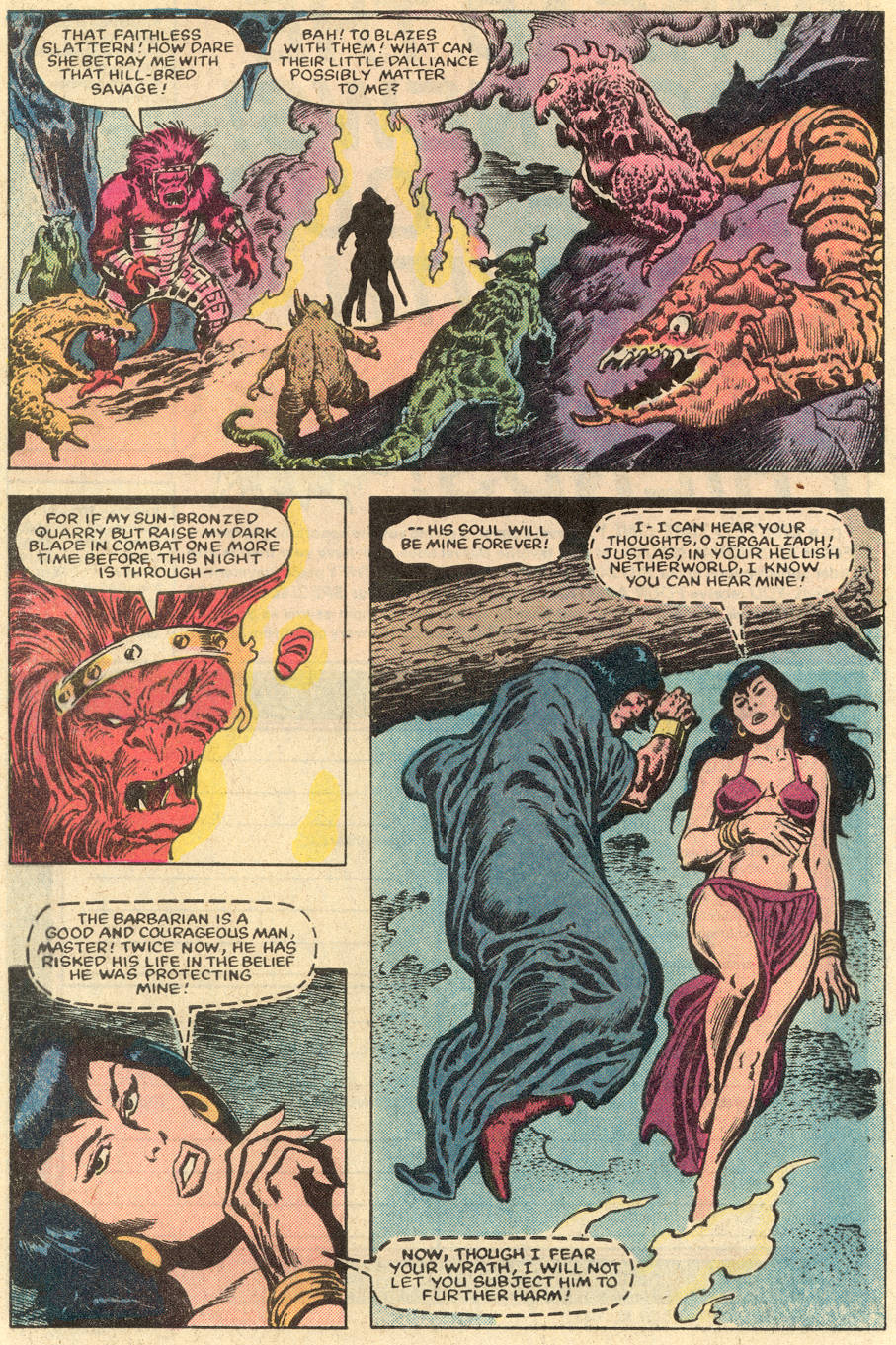 Conan the Barbarian (1970) Issue #152 #164 - English 17
