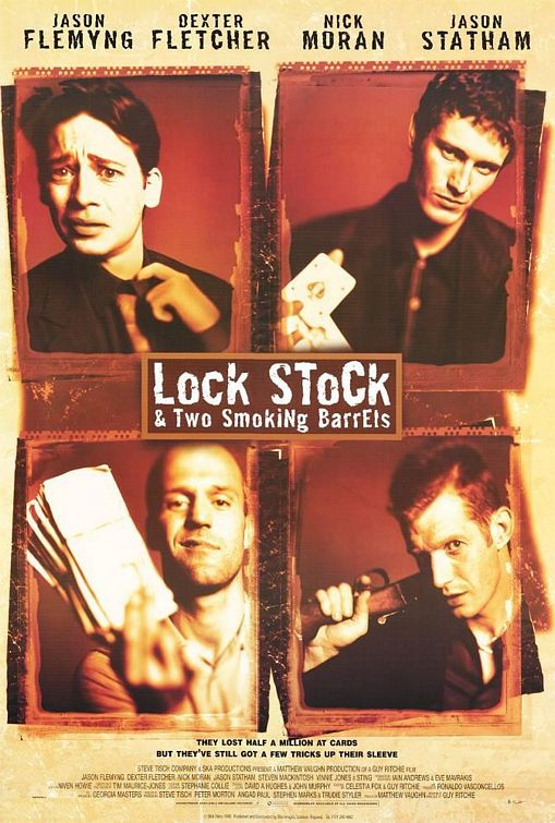 Ver Lock, Stock And Two Smoking Barrels (1998) Online