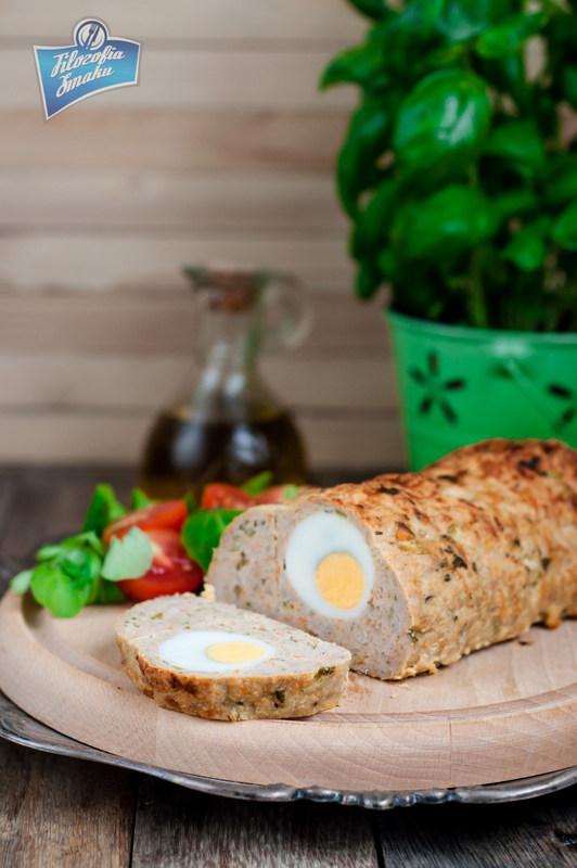 Przepis na klops z jajkiem