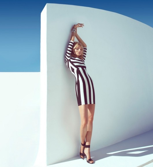 striped dress, h m dress, striped, black white
