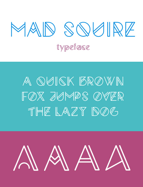 Mad Squire font