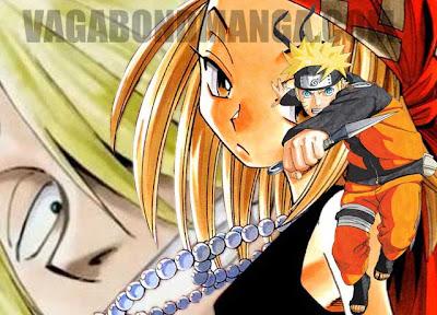 """Những """"tóc vàng hoe"""" trong manga!"""
