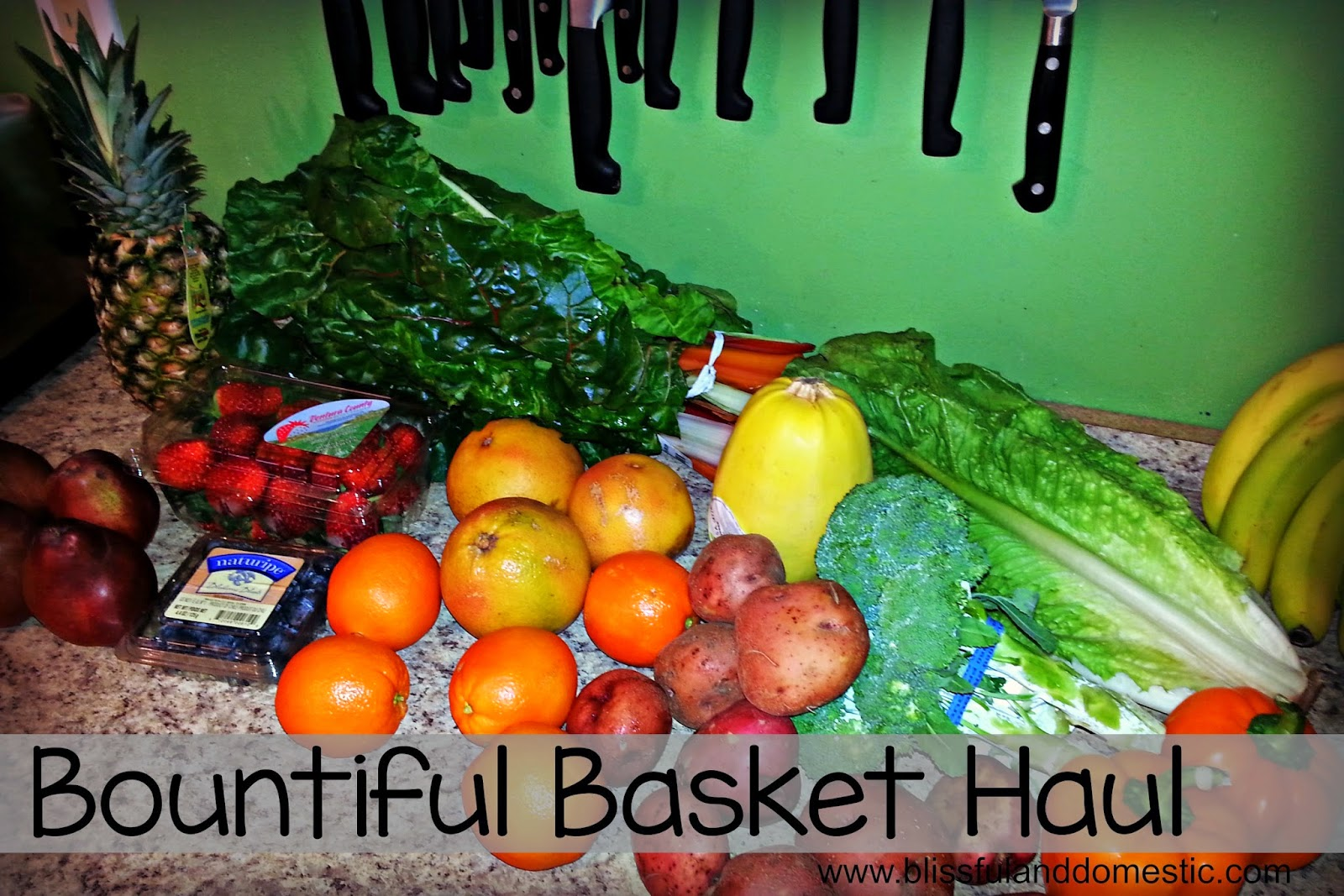 Bountiful Basket Haul..