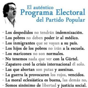 VOTAR PP O ABSTENERSE ES ELEGIR ESTO: