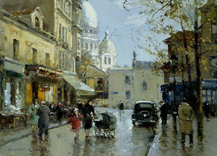 Paisajes y escenas de París vistas por sus pintores