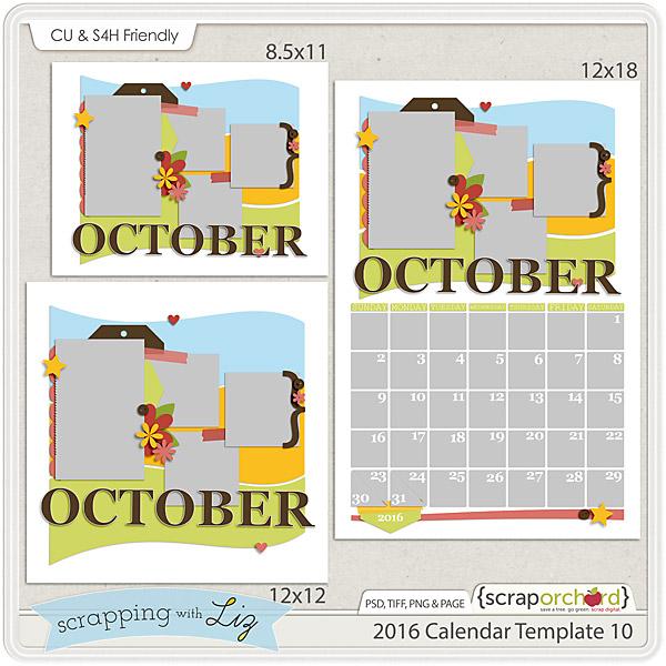 http://scraporchard.com/market/2016-Calendar-10-Digital-Scrapbook-Template.html