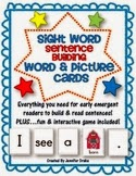 http://www.teacherspayteachers.com/Product/Sight-Word-Sentence-Building-Word-Picture-Cards-PLUS-Game-Activity-593061
