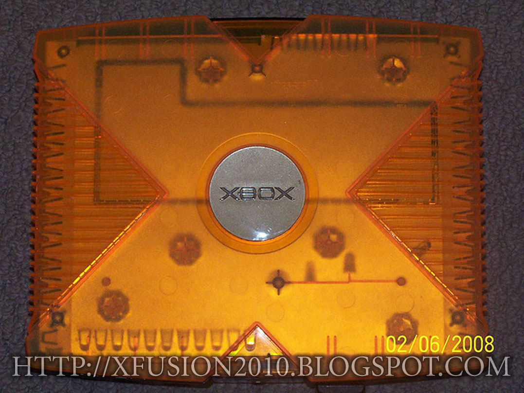 Rare Original XBOX 'Live' Translucent Orange Controller
