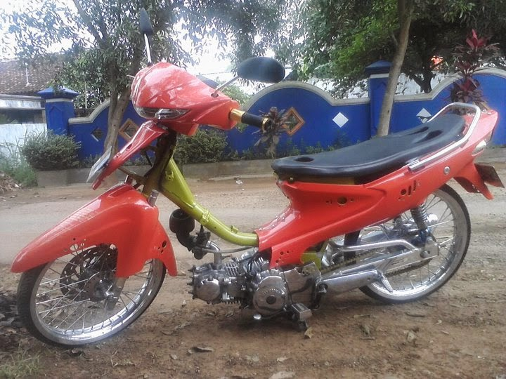 modifikasi motor smash