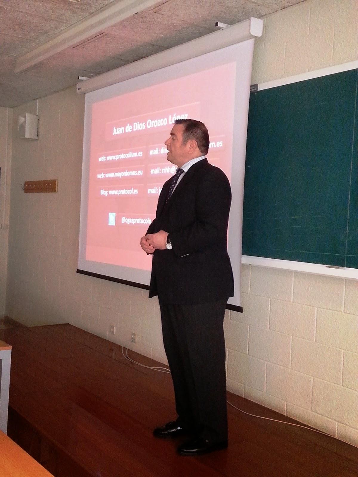 Protocolo, Comunicación e Imagen Corporativa. Universidade da Coruña. Juan de Dios Orozco