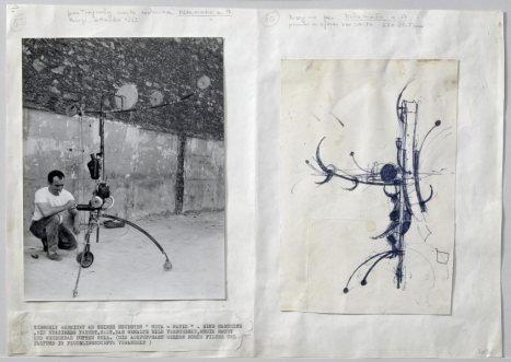 JEAN TINGUELY SKETCHES