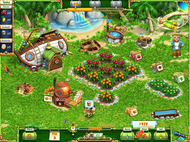 تحميل لعبة المزرعة السعيدة للكمبيوتر Game Happy Farm الجولات اندرويد