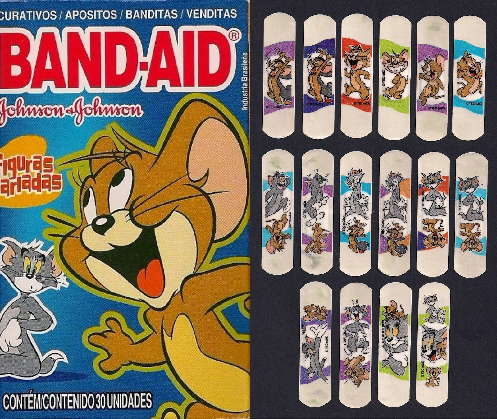 Band Aid Collection Tom Jerry