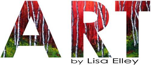 Palette Knife Paintings by Lisa Elley