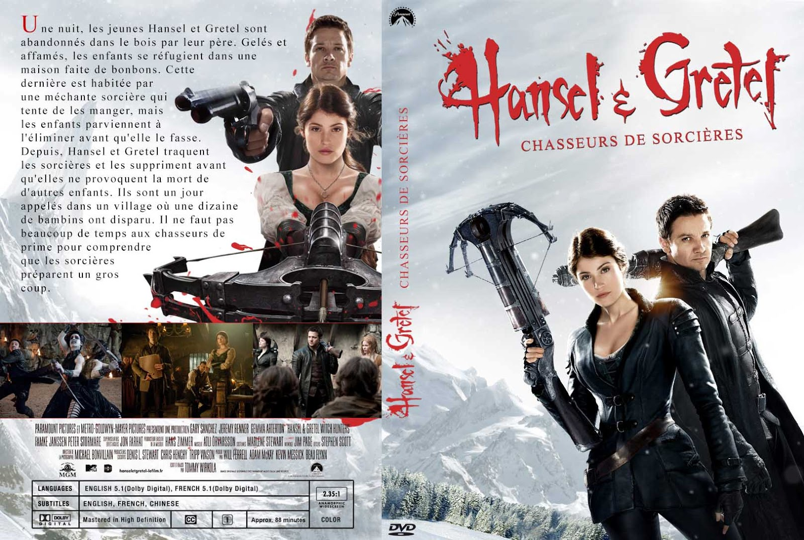 Hansel and Gretel Witch Hunters - DVDFULL LATINO
