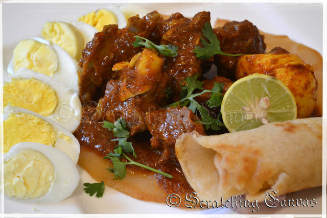 Ethiopian Mutton Curry