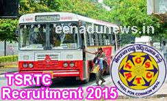 TSRTC Recruitment 2015 Online Application, TSRTC Jobs Apply Online, TSRTC Notification for Conducter Jobs, Latest Notification of TSRTC, Telangana RTC Jobs Notification 2015