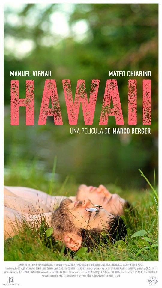 Hawaii de Marco Berger affiche film