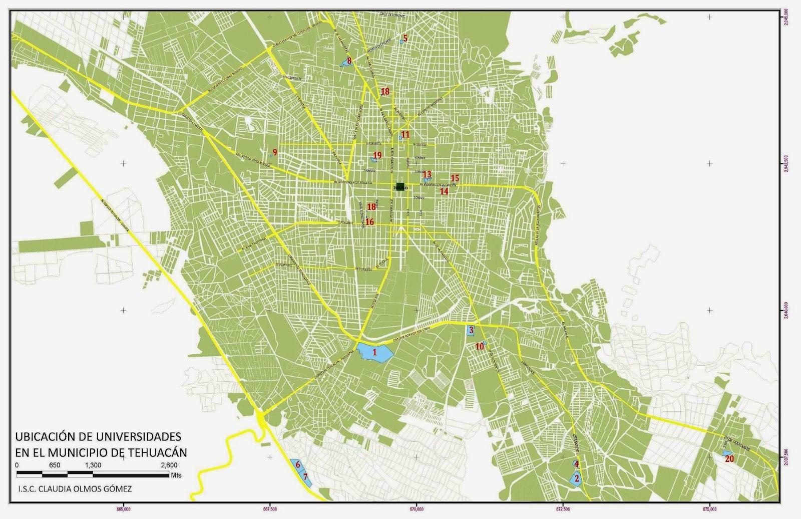 Tehuac 225 N Lugar De Dioses Universidades En Tehuac 225 N