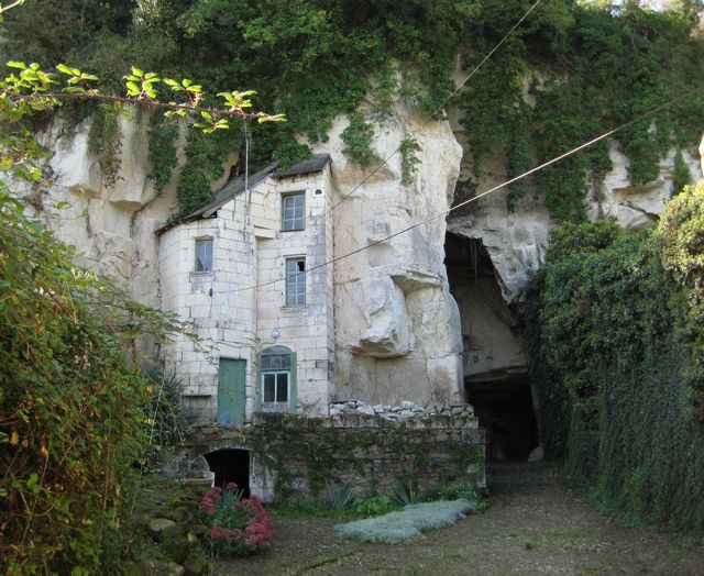 Troglodyte Homes France