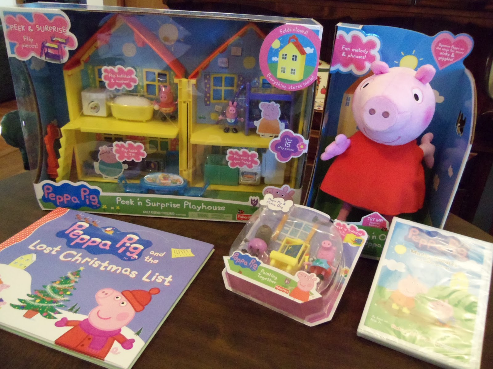Toys For Grandparents House : Grandma bonnie s closet new peppa pig toys at quot r us