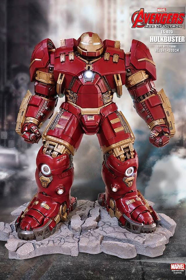 The Hulkbuster Armor Is A Heavy Duty Exo Frame Designed For Maximum Strength Amplification At Cost Of Reduced Versatility And Mobility As Its Name