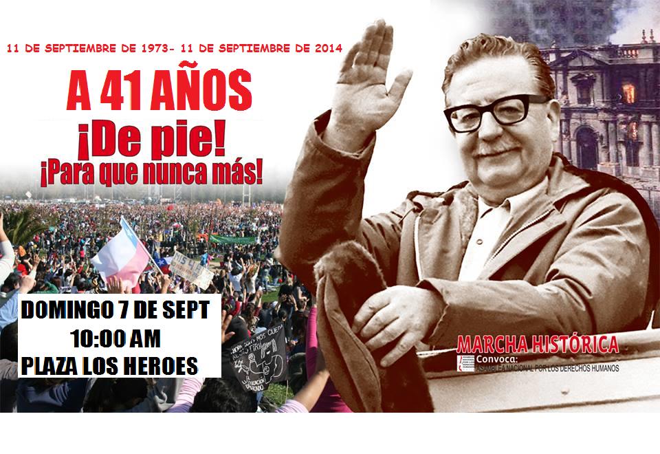 A 41 AÑOS DEL GOLPE EN CHILE