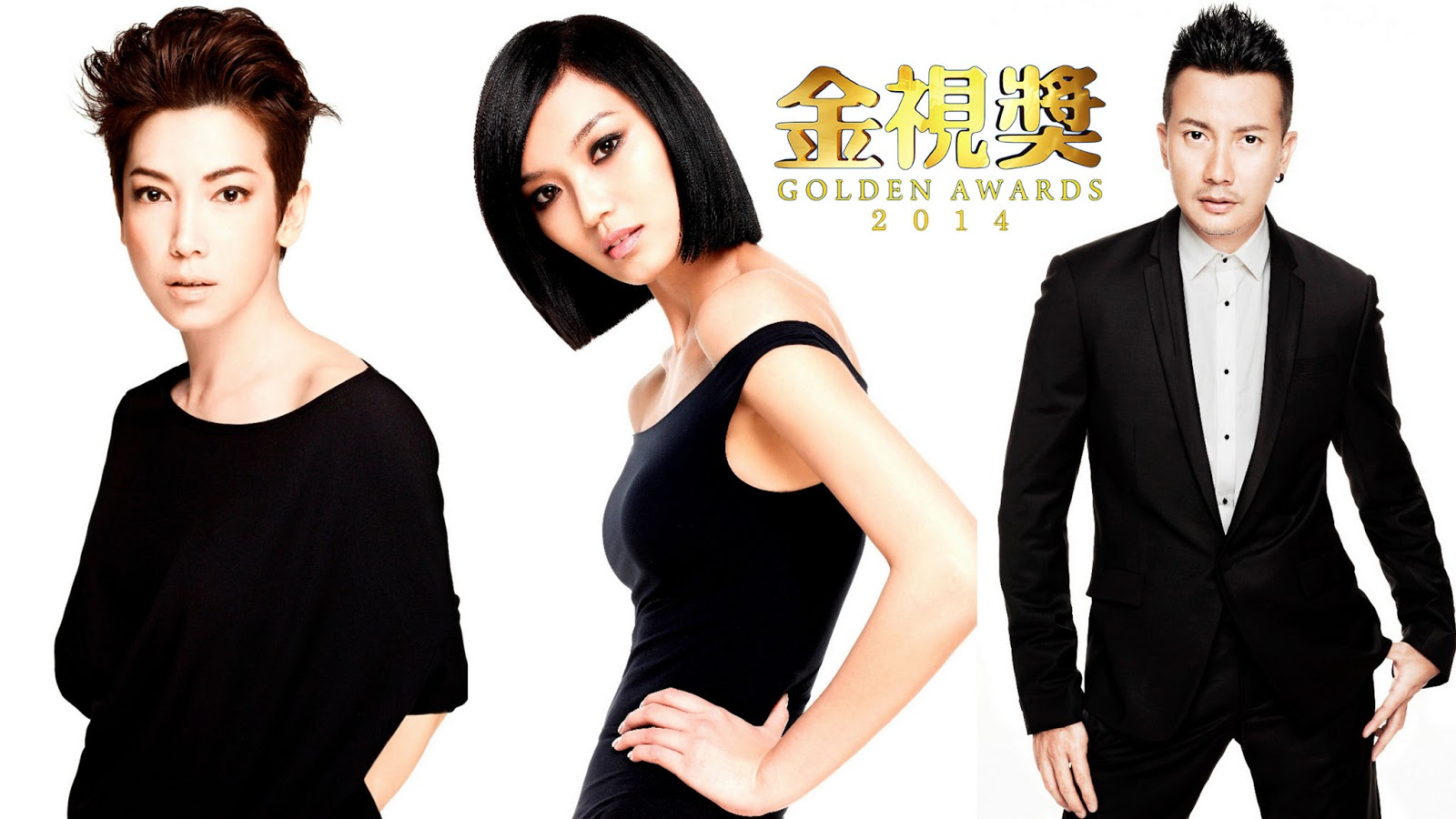 Kym Ng 钟琴, Joanne Peh 白薇秀 and Chen Han Wei 陈汉玮 coming to Golden Awards 2014