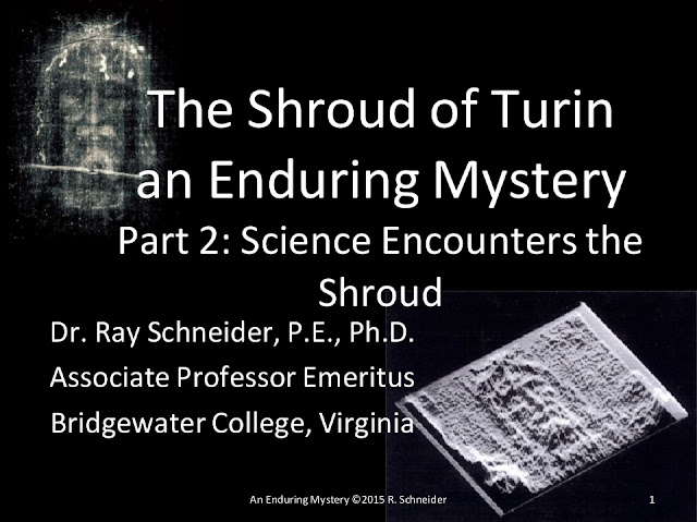 The Shroud of Turin an Enduring Mystery.