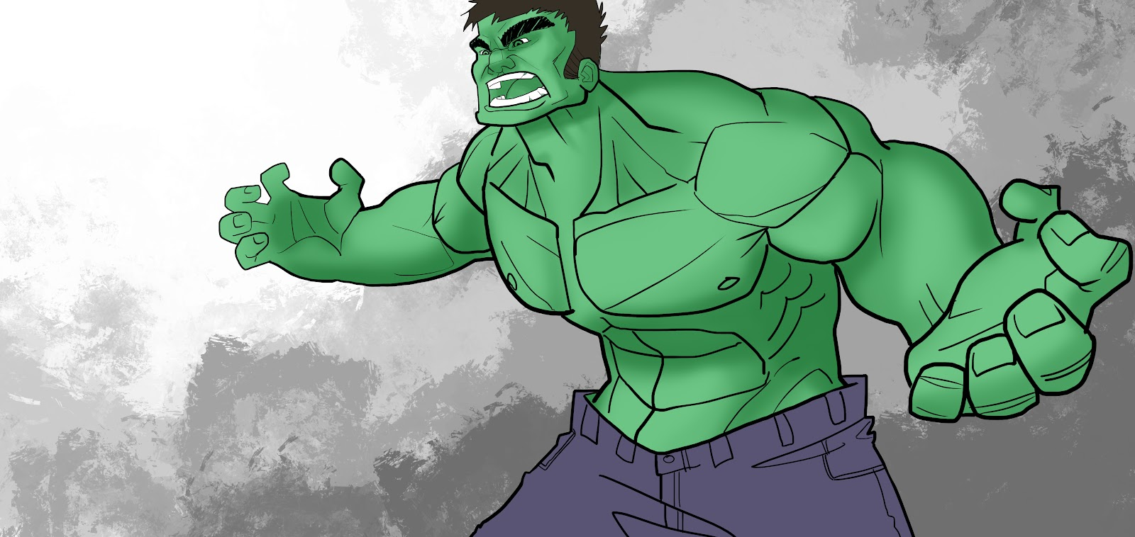 easy hulk drawings - photo #15