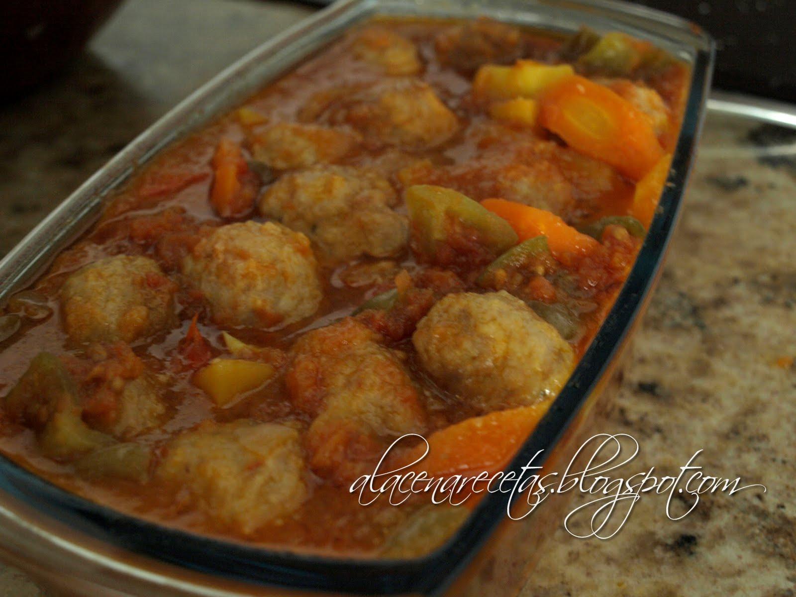 La alacena alb ndigas con verduras for Albondigas de verduras