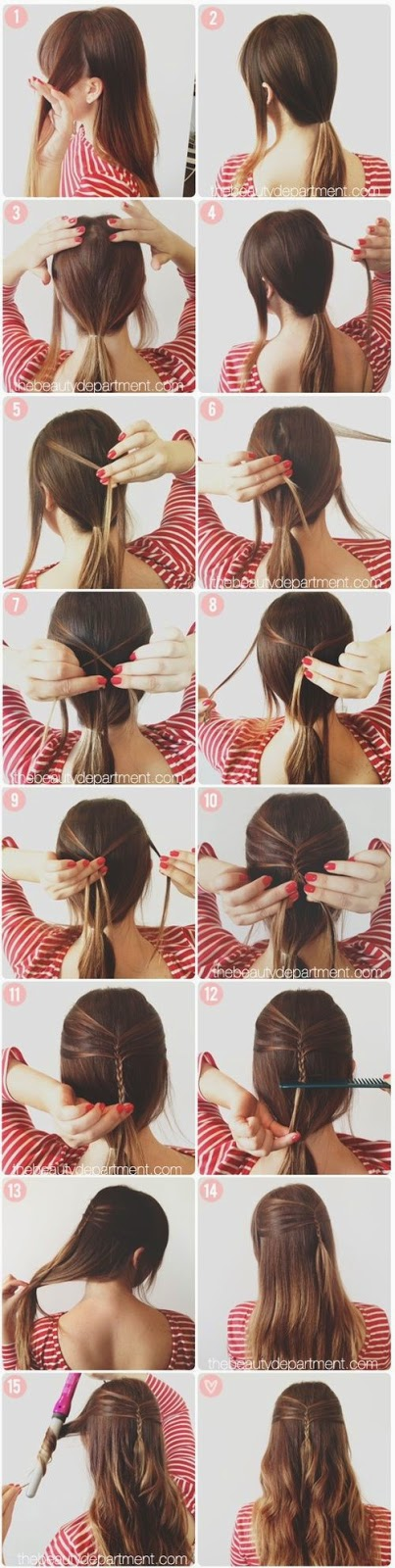 Hairstyles Tutorials Step By Step