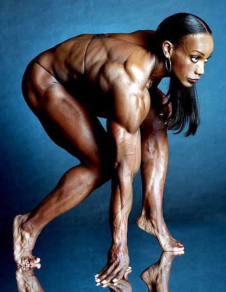 bodybuilding womens naked butt