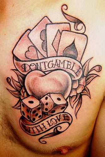 Tatuaje no apuestes con el amor
