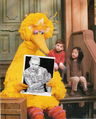Big Bird says knock you out