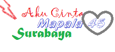 I Love Mapala 45 Surabaya