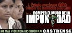 CAMPAÑA: CUMPLIR LAS SENTENCIAS PARA ROMPER EL MURO DE LA IMPUNIDAD