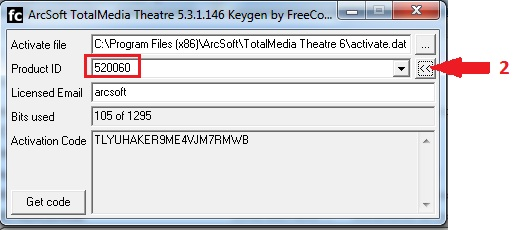arcsoft totalmedia 3.5 licence key free