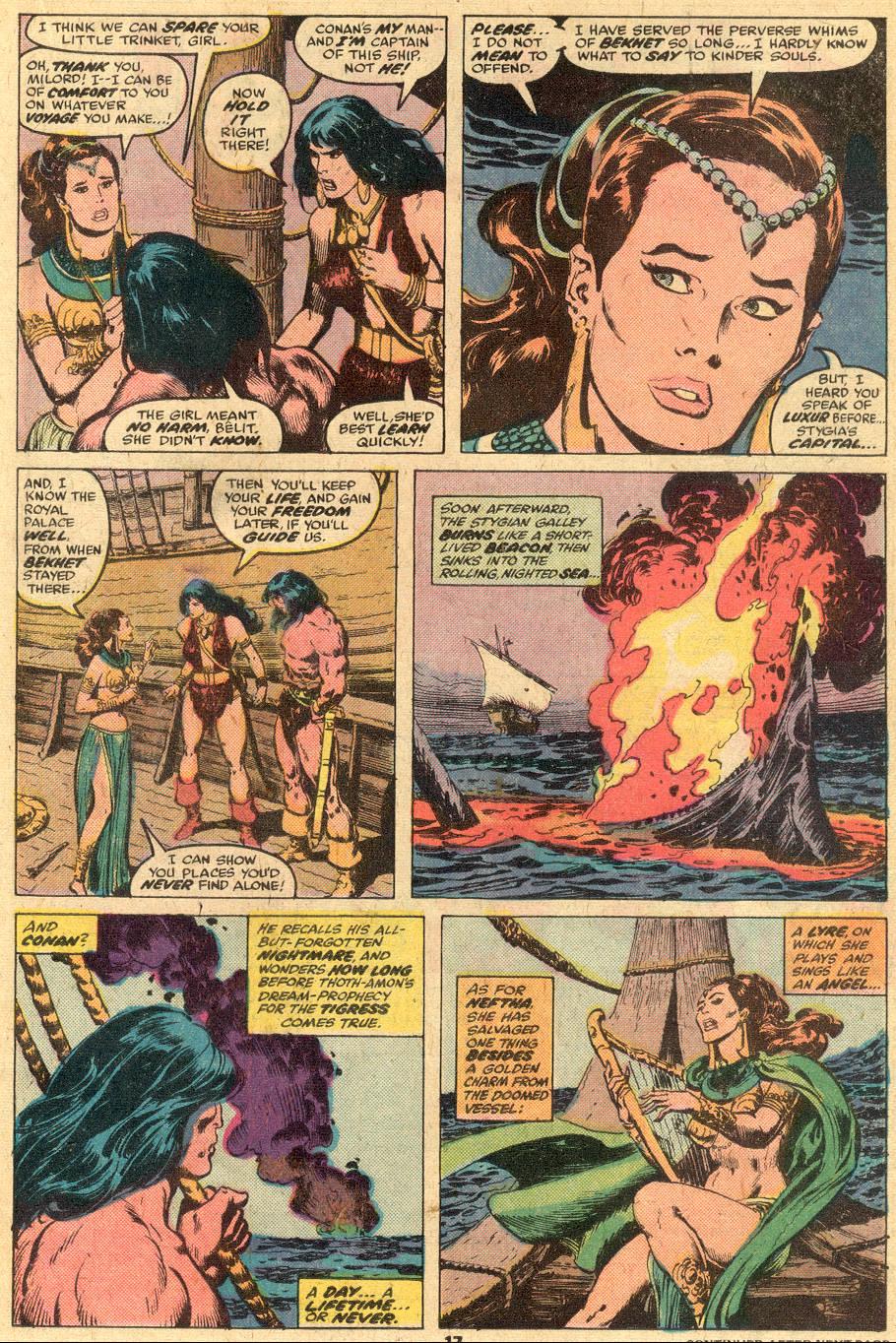 Conan the Barbarian (1970) Issue #74 #86 - English 11