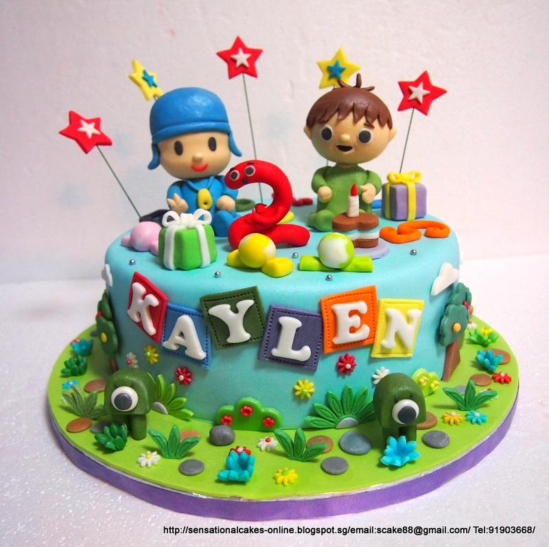 Pocoyo Cake Toppers Singapore