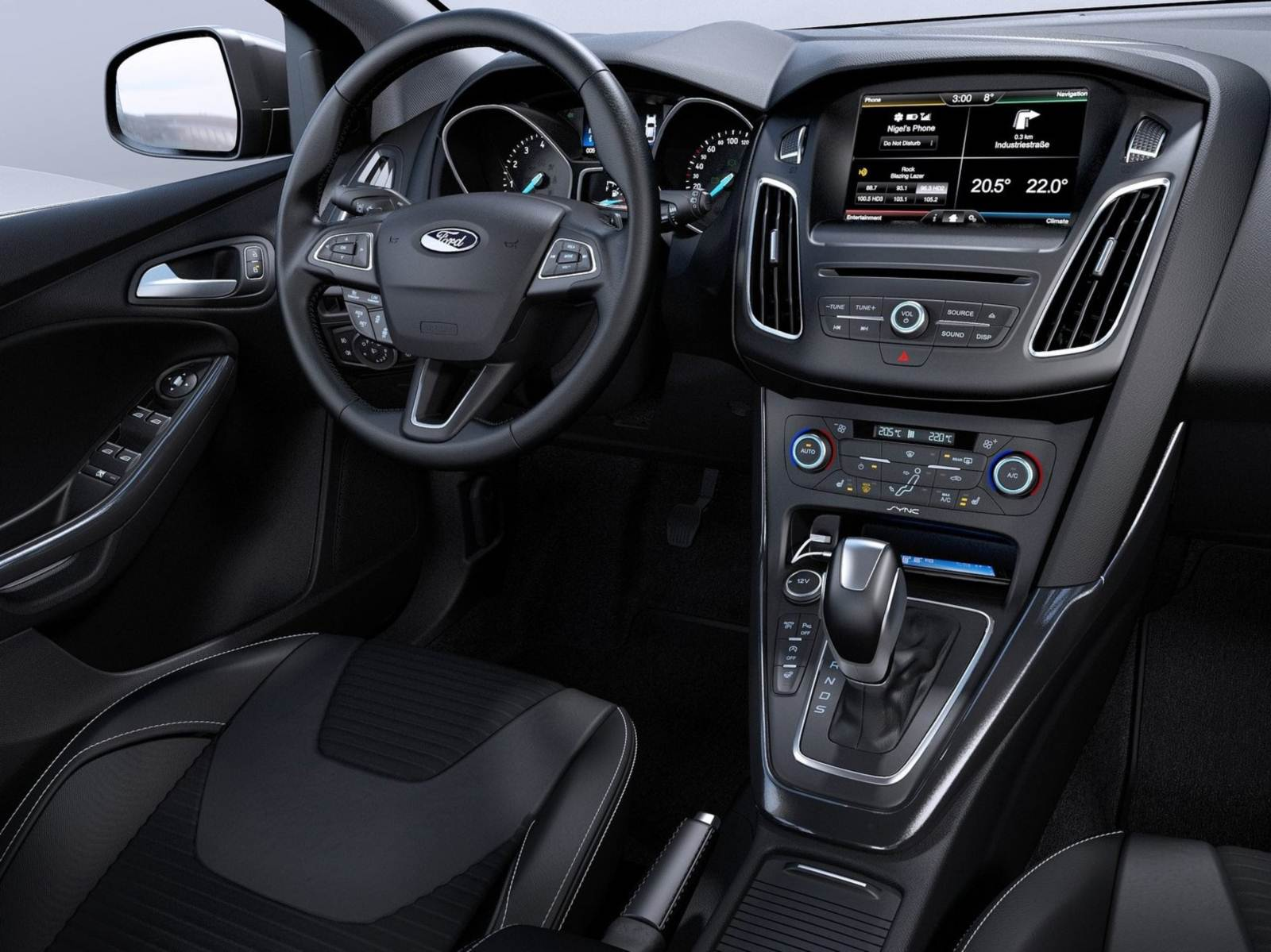 Novo Ford Focus 2015 - interior