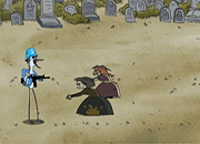 Regular Show Zombie Grave