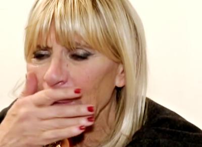 Gemma Galgani piange foto