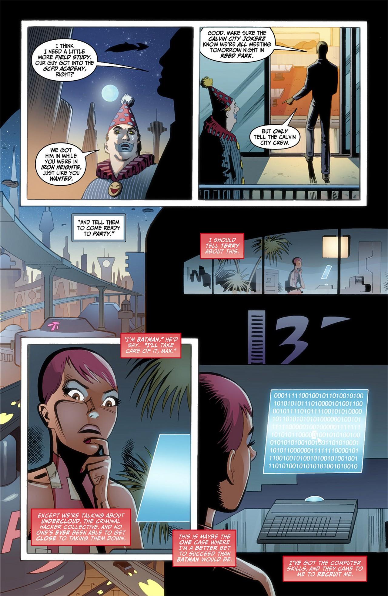 Batman Beyond (2012) Issue #1 #1 - English 9