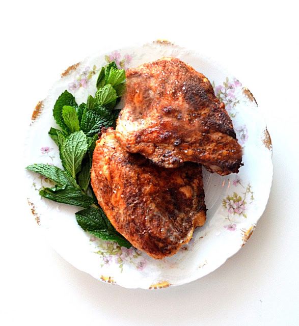 Feature Recipe ~ My Grandmother's Lebanese Spiced Chicken