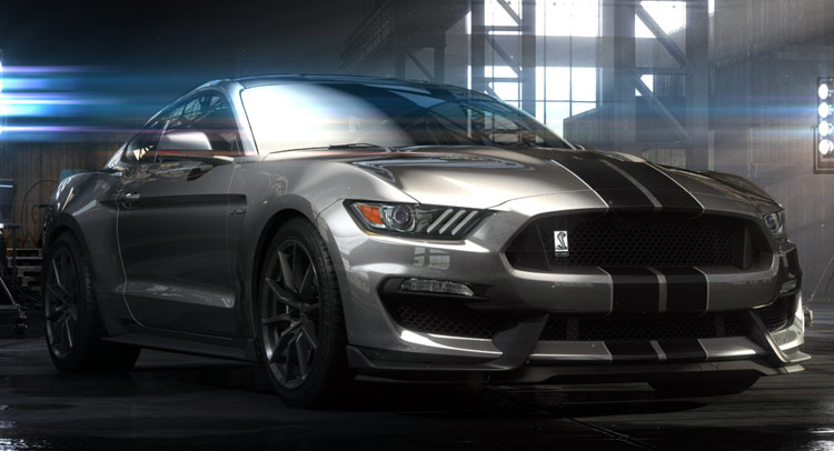 new 2016 ford mustang shelby gt350 has more than 500hp wvideo