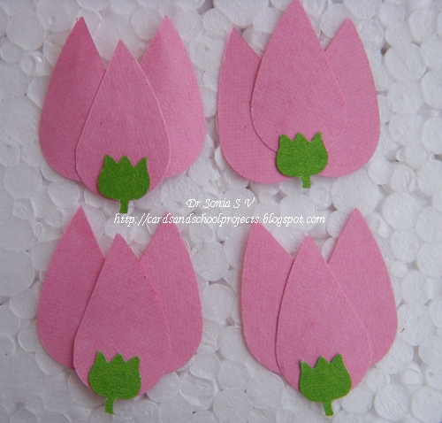 Cards crafts kids projects handmade flowers for Easy handmade flowers