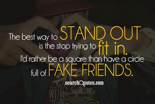 Best Quotes About Two Faced Friends : Life and beauty fake friends