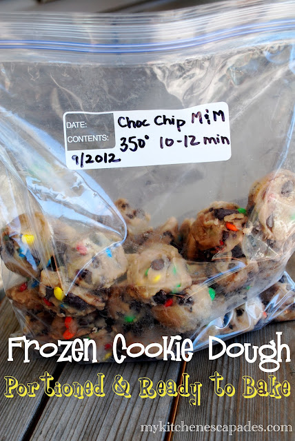 how to freeze your favorite cookie dough